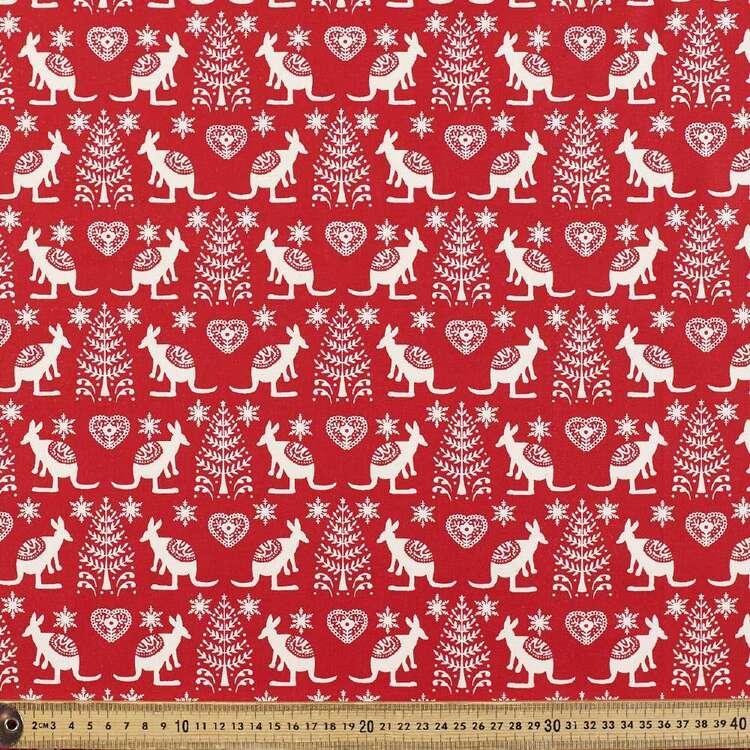 Scandi Kangaroo Cotton Fabric