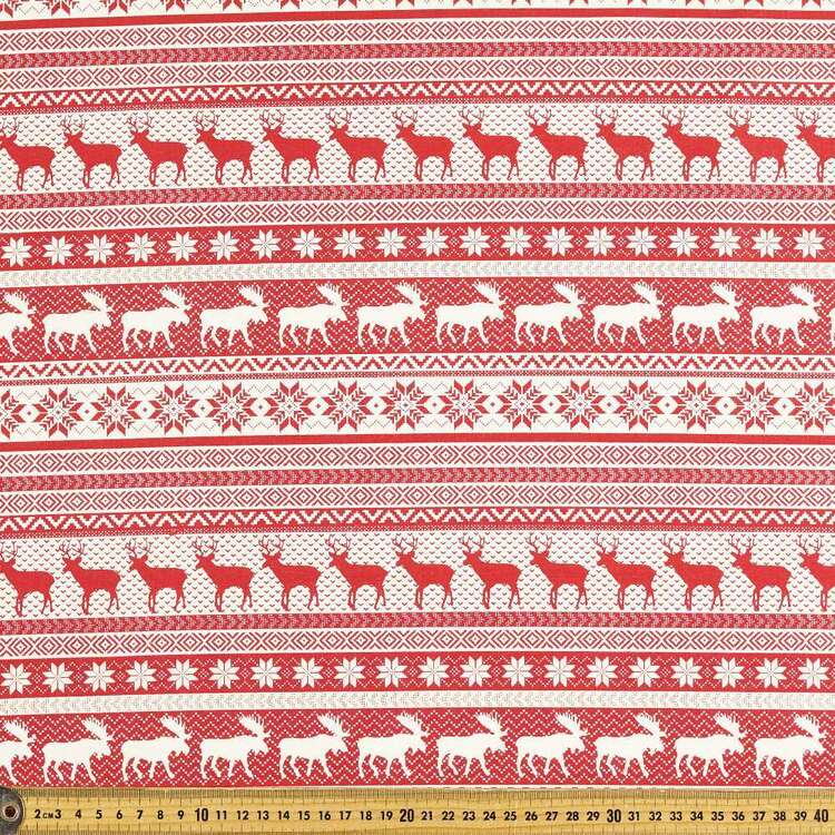 Scandi Fairyle Cotton Fabric