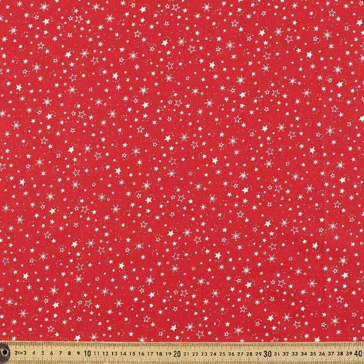 Scandi Starburst Cotton Fabric