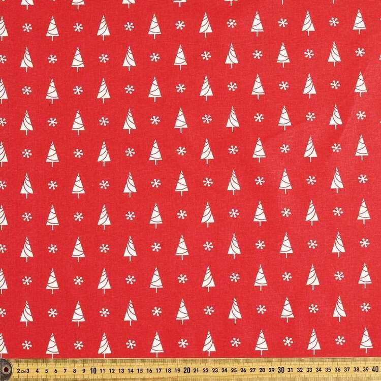 Scandi Tree Cotton Fabric # 2