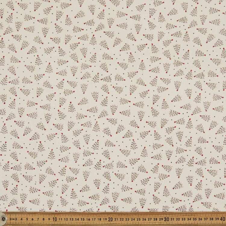 Scandi Tree Cotton Fabric