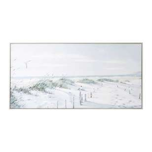 Tag Richard MacNeil Footpath To Beach Framed Canvas