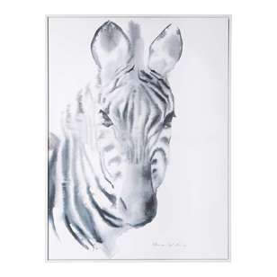 Tag Canvas Aimee Del Valle Zebra Framed Canvas