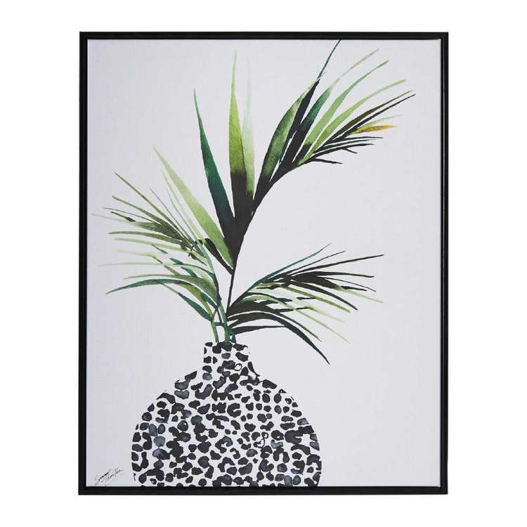 Tag Summer Thornton Areca Palm Framed Canvas