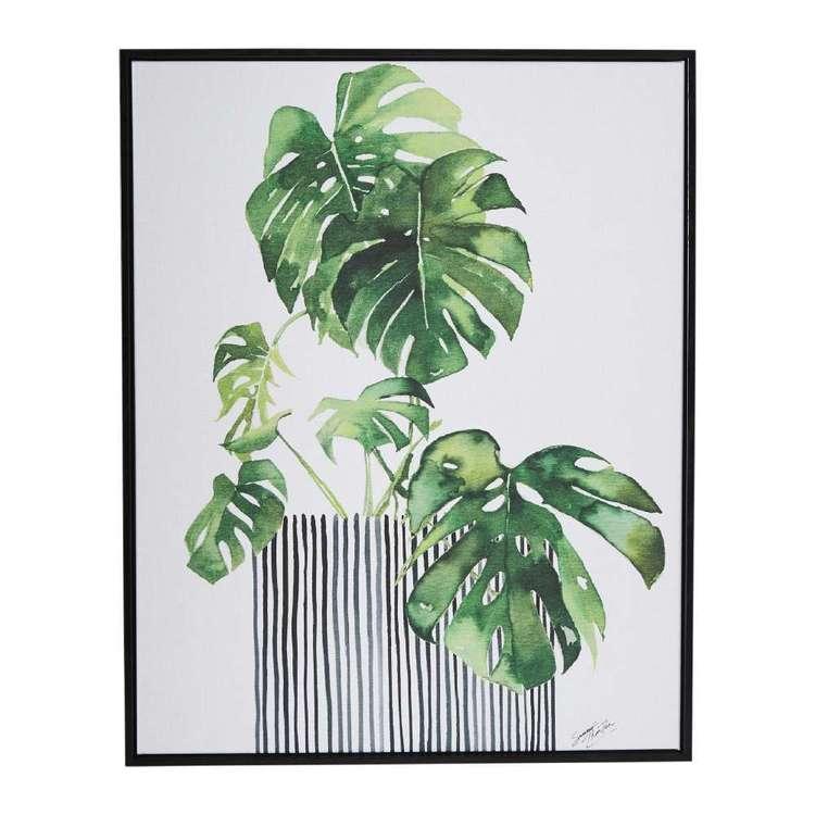 Tag Summer Thornton Swiss Plant Framed Canvas