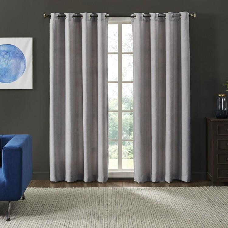 Logan & Mason Vittoria Eyelet Curtains