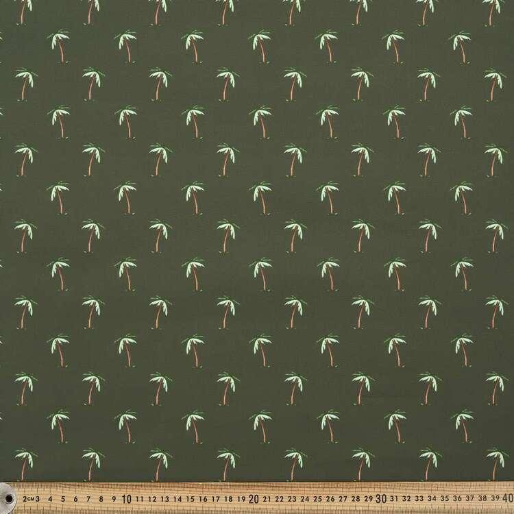 Palm Printed 150 cm G3 Trunks Microfiber Fabric