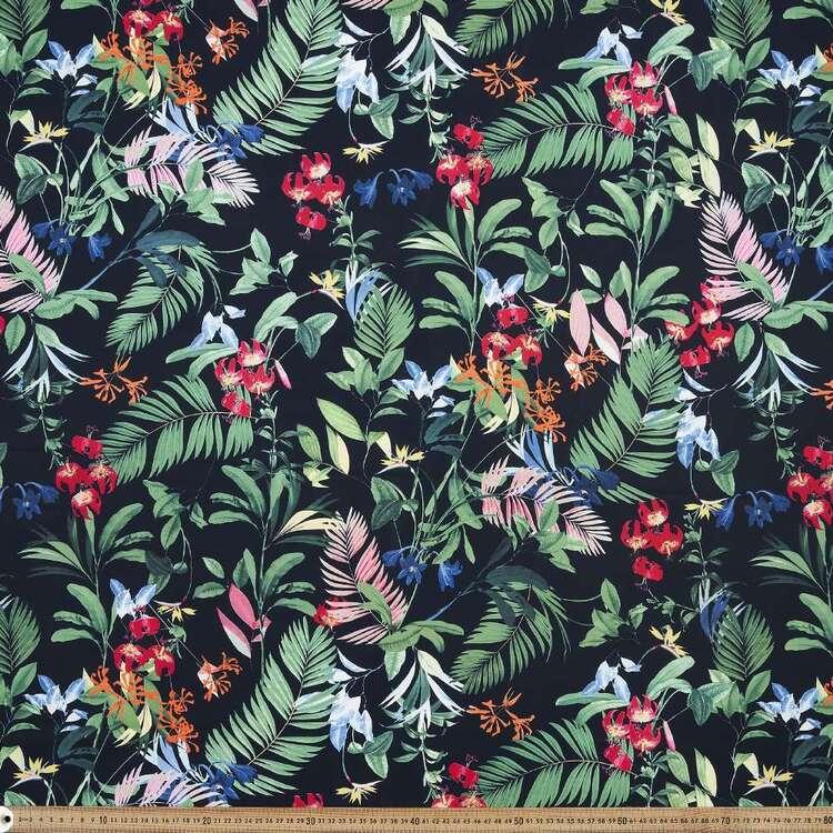 Jungle Printed 150 cm G3 Trunks Microfiber Fabric