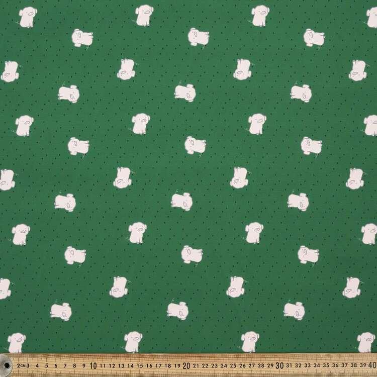 Pig Printed 150 cm G3 Trunks Microfiber Fabric