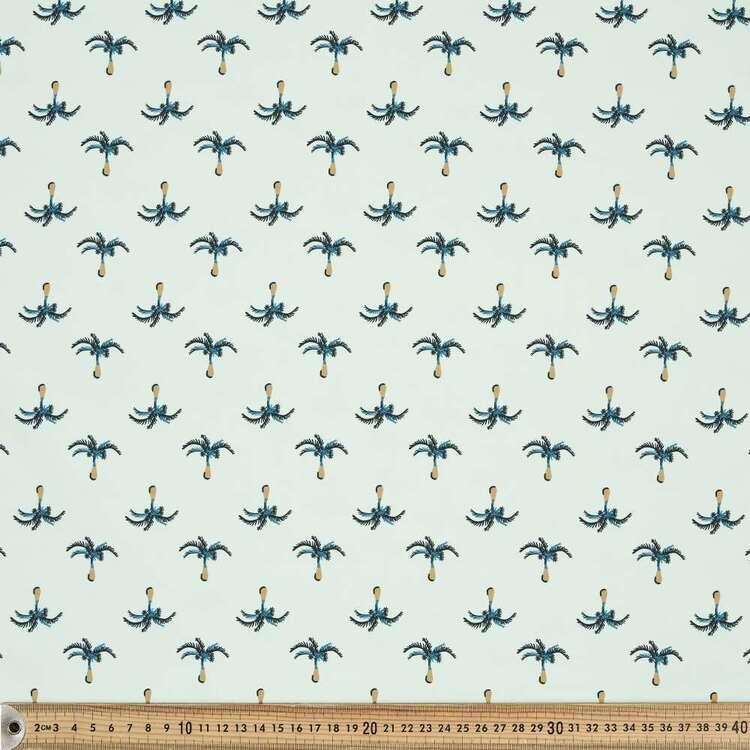Palm Calm Printed 150 cm Trunks Microfiber G4 Fabric
