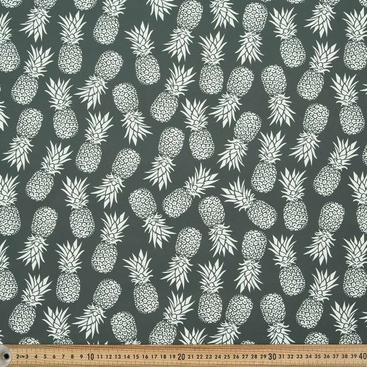 Pineapple Printed 150 cm Trunks Microfiber G4 Fabric