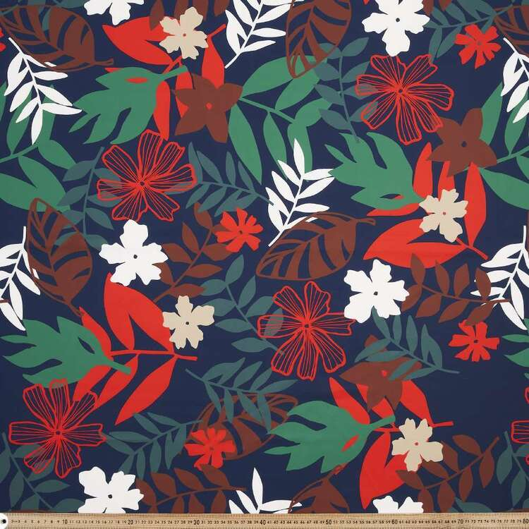 Lagoon Printed 150 cm Trunks Microfiber G4 Fabric