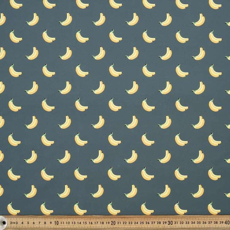 Banana Printed 150 cm Trunks Microfiber G4 Fabric
