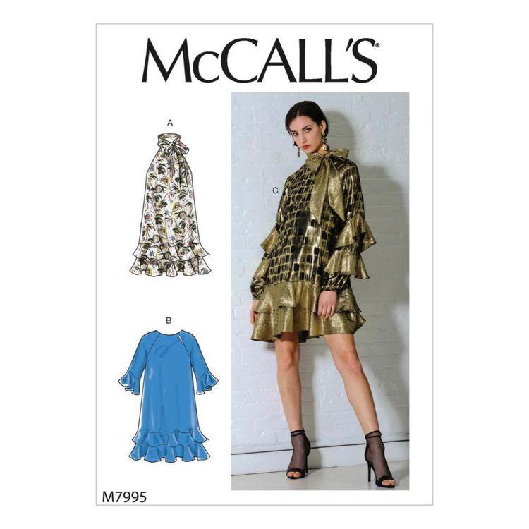 McCall's Pattern M7995 Misses' Dresses