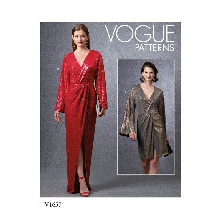Vogue Pattern V1657 Misses' Special Occasion Dress