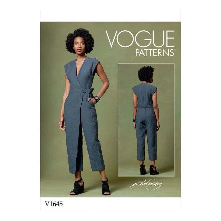 Vogue Pattern V1645 Misses' Jumpsuit