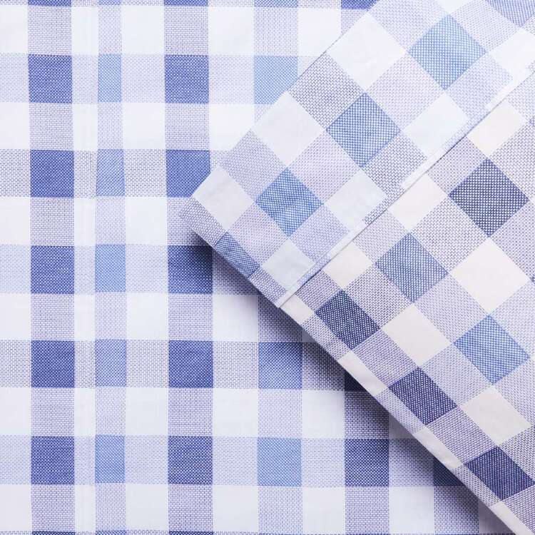 KOO Kids Gingham Sheet Set