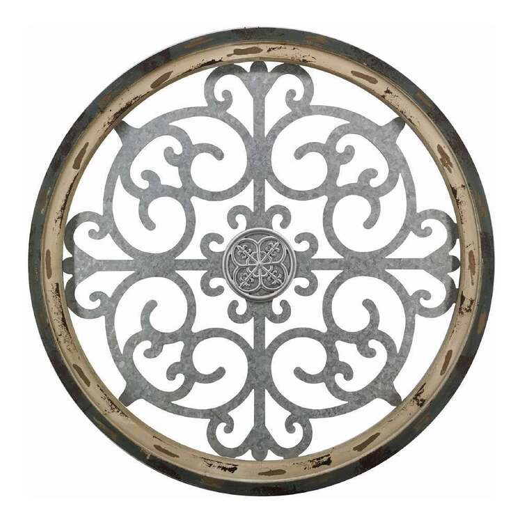 Living Space Circle Metal Wall Décor