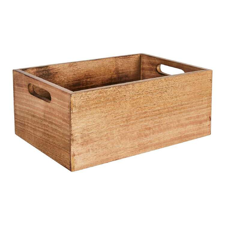 Ombre Home Spring Fields Wooden Crate