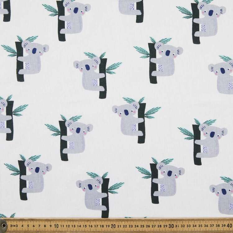 Koala Multipurpose Cotton Fabric