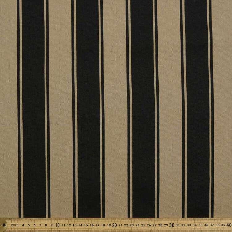 Stripe Cotton Canvas