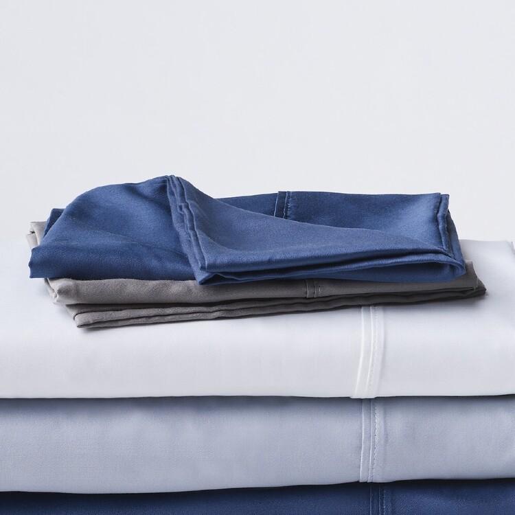 KOO 600 Thread Count European Pillowcase 2 Pack