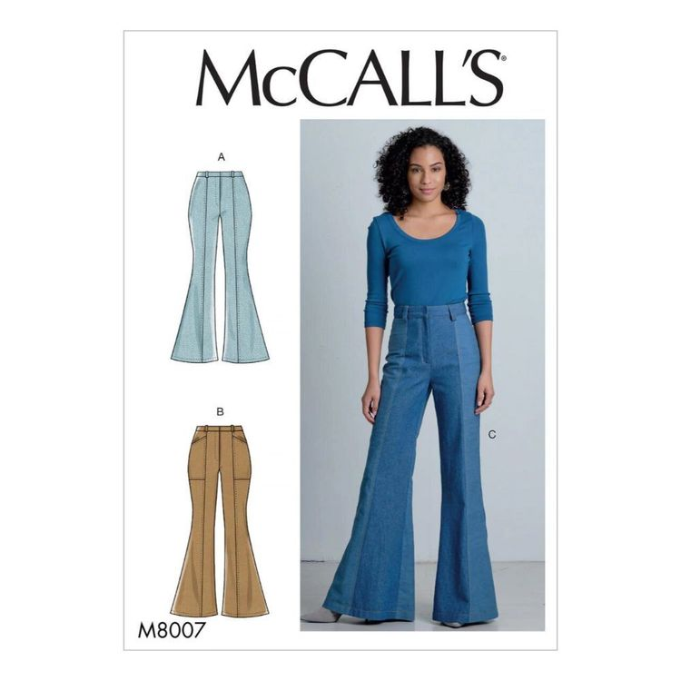 McCall's Pattern M8007 Misses' Pants