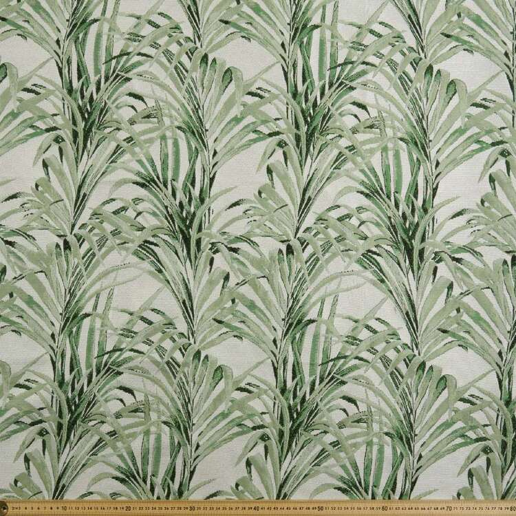 Tropical Palm Tapestry