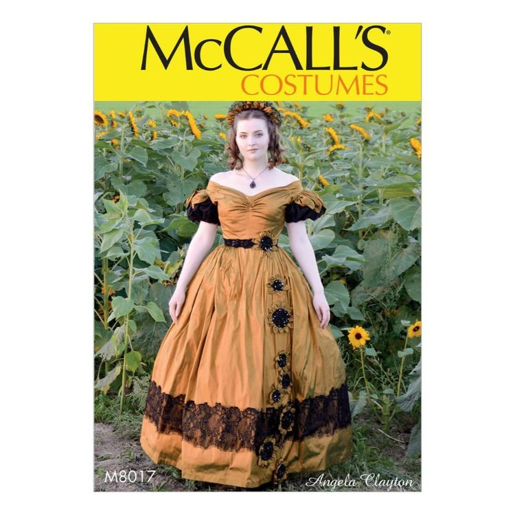 McCall's Pattern M8017 Misses' Costume