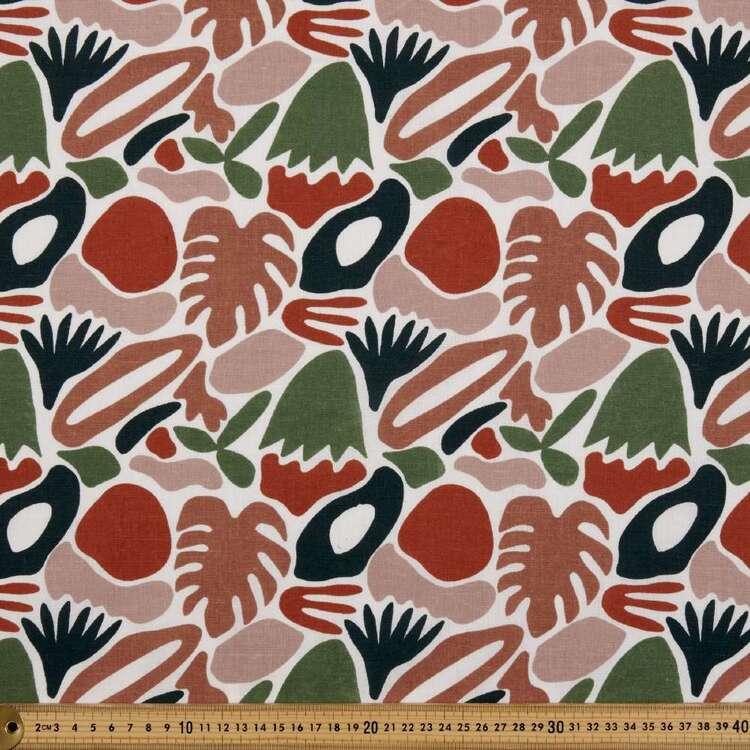 Jungle Abstract Multipurpose Cotton Fabric