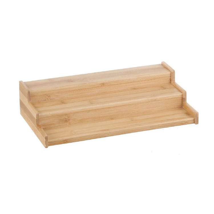 LT Williams Bamboo 3 Step Spice Shelf