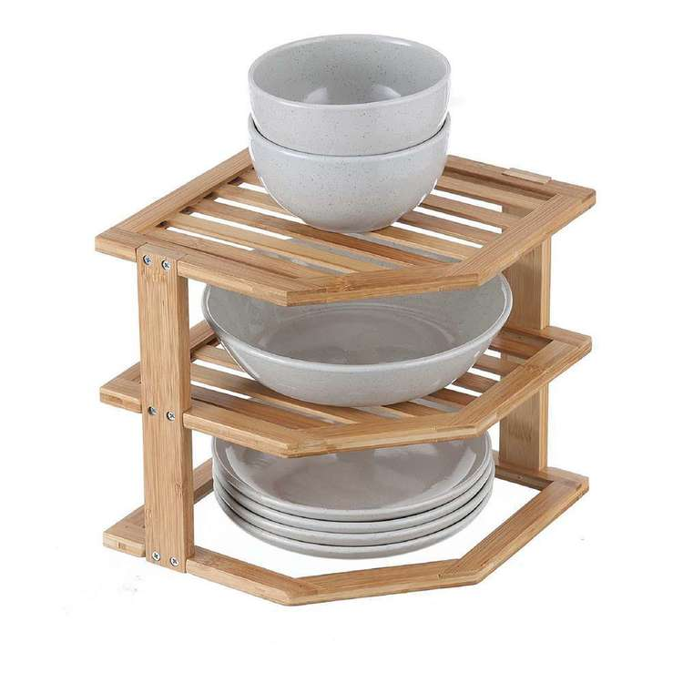 LT Williams Bamboo Plate Stacker