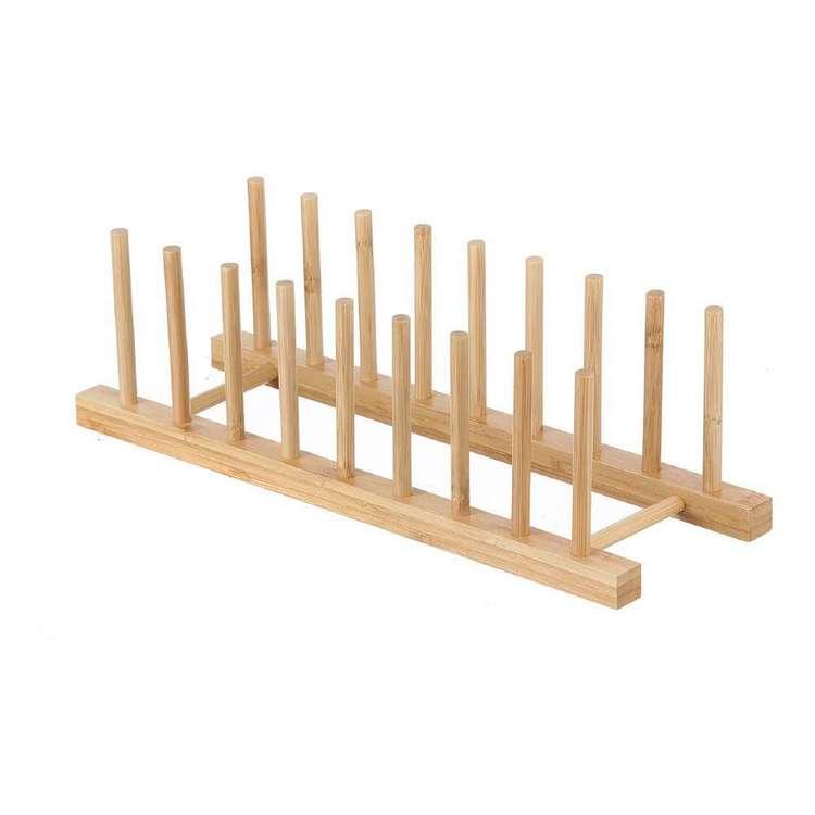 LT Williams Bamboo 8 Plate Rack