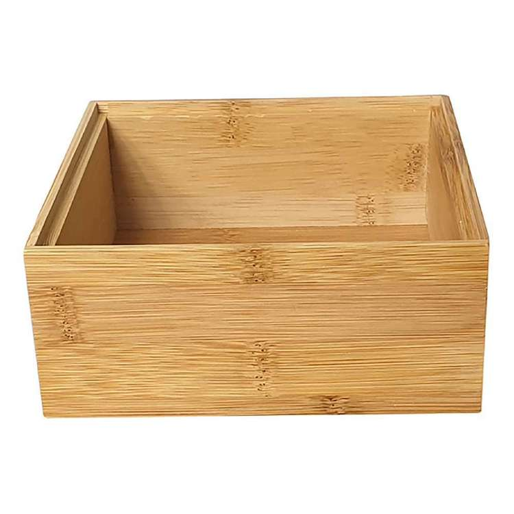 LT Williams Bamboo Square Stack Storage Box