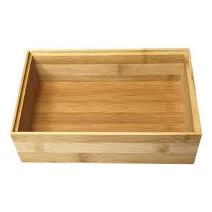 LT Williams Bamboo Rectangle Stack Storage Box