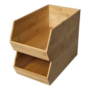 LT Williams Bamboo Stack Store Basket