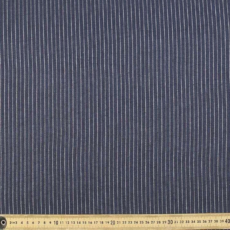 Stripe Cotton Flax Stripe Fabric