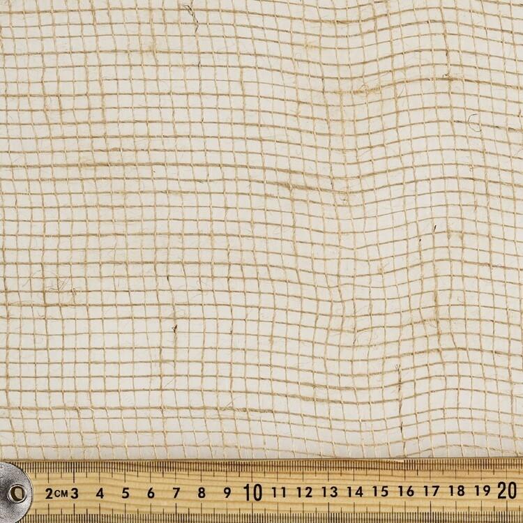 Scrimmed Hessian Precut 10m Fabric Roll
