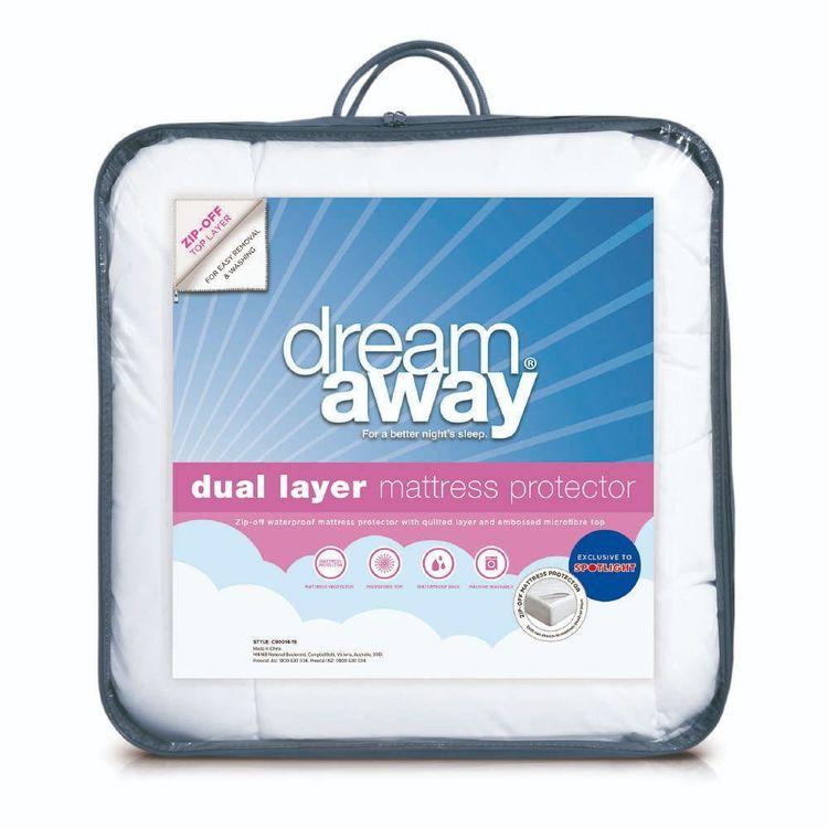 Dream Away Dual Layer Zip Off Mattress Protector