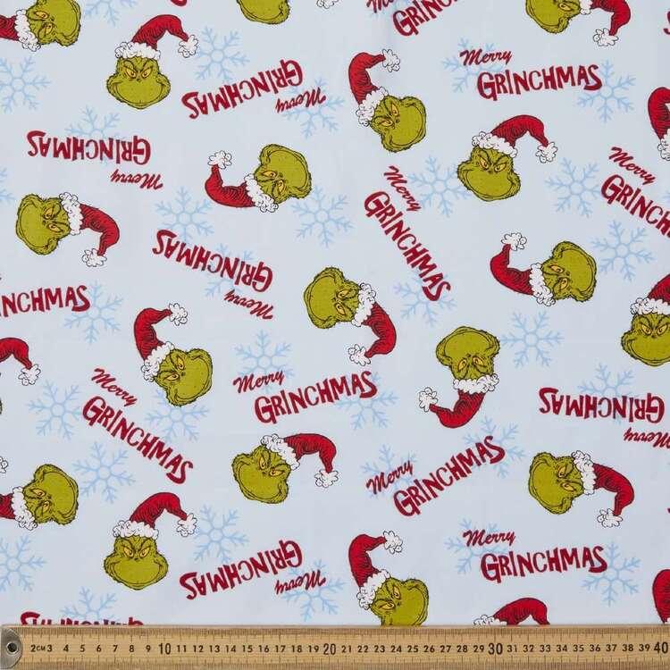 Grinchmas Merry Grinchmas Cotton Fabric