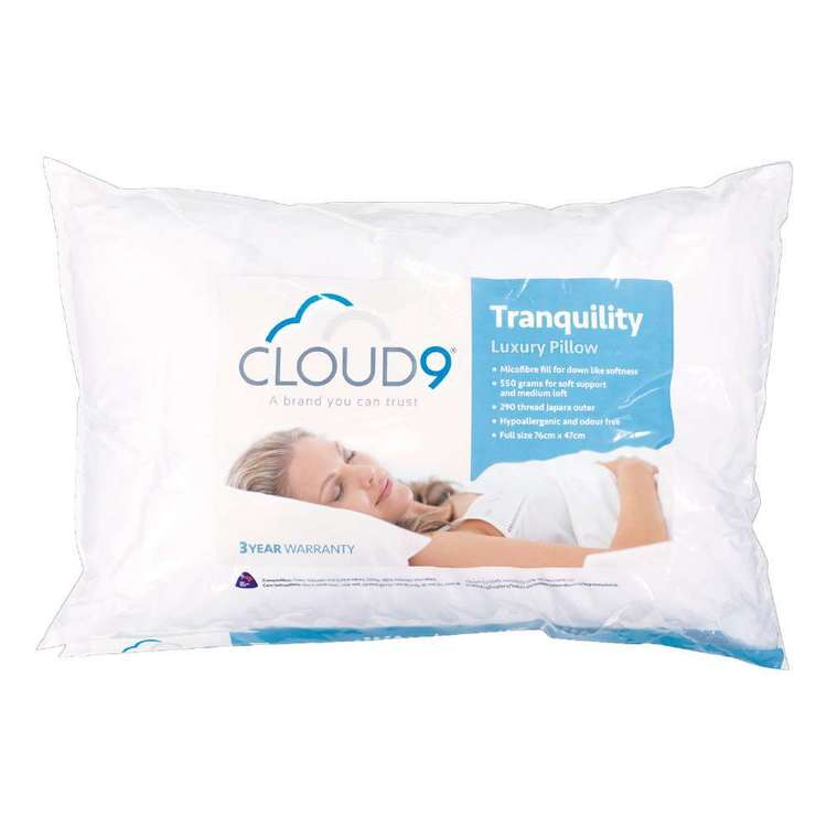 Cloud 9 Tranquillity Luxury Pillow