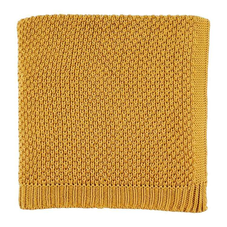 Koo Home Moss Knitted Throw