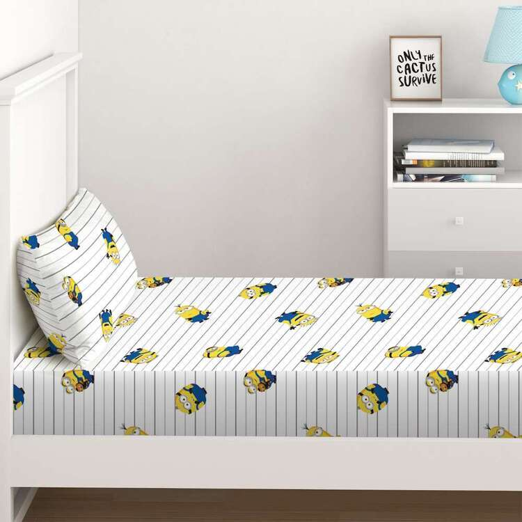 Minions 2 Fitted Sheet Set