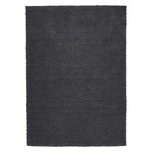 Koo Home Basma Cut Pile Wool Rug