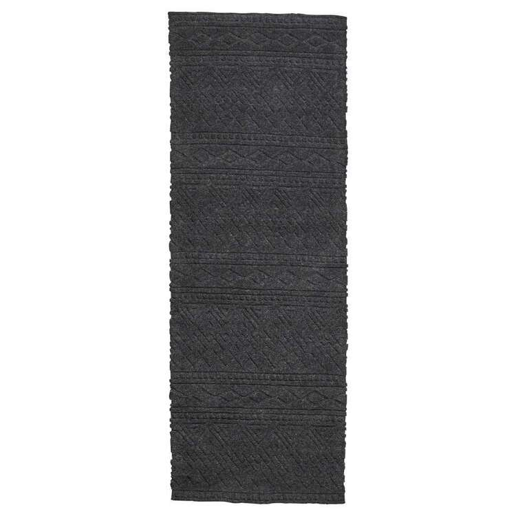 Koo Home Basma Cut Pile Wool Runner