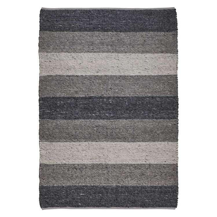 Koo Home Gaspar Woven Stripe Wool Rug