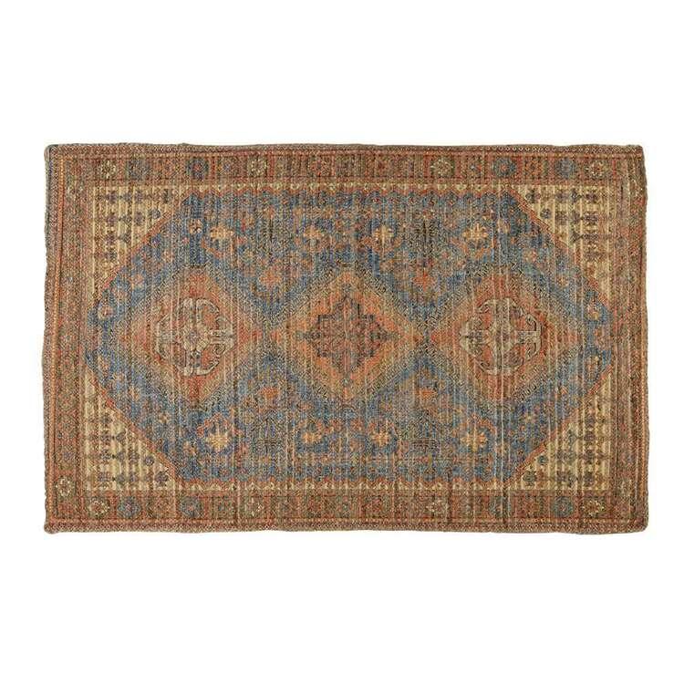 Koo Home Bahar Printed Braided Jute Rug