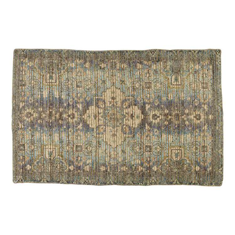 Koo Home Darien Printed Braid Jute Rug