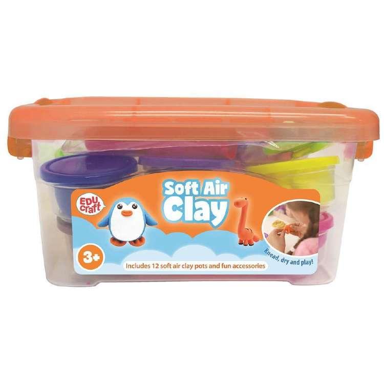 Educraft Soft Air Clay Set