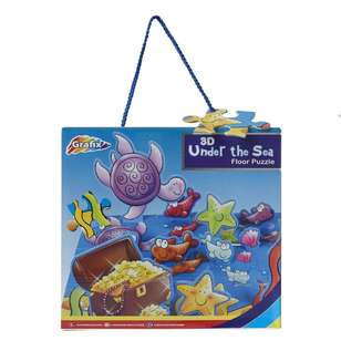 Grafix Under The Sea 3D Floor Puzzle